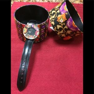 Vera Bradley Watch with a circle box